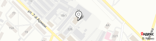 РитмИкс на карте Гатчины