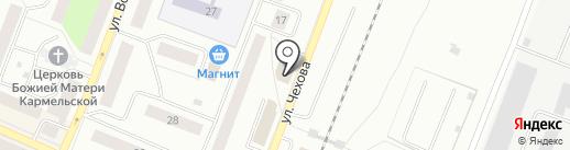 Мини-маркет на карте Гатчины