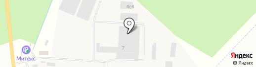 ВиаКон Сэйфроуд на карте Гатчины