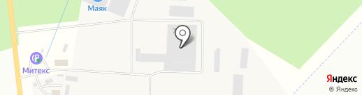 Аберс на карте Гатчины
