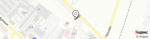 Автомастерская на карте Гатчины
