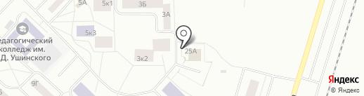 УГЛЕ-ТЭК на карте Гатчины