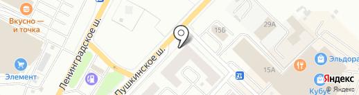 Невский Альянс на карте Гатчины