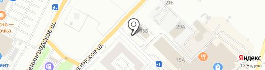ST auto на карте Гатчины