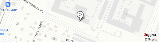 КРиСО на карте Гатчины