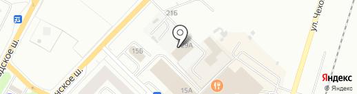 Авто-Сэм на карте Гатчины