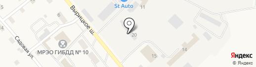 Автосервис на карте Пригородного