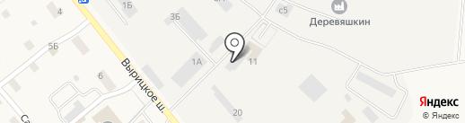 Продовольственный магазин на карте Пригородного