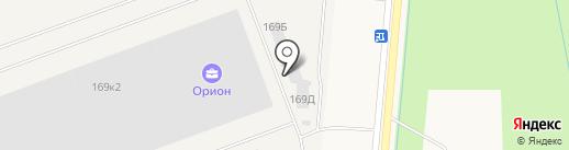 Кинтетцу Уорлд Экспресс на карте Санкт-Петербурга