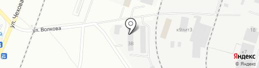 Колорхимия на карте Гатчины