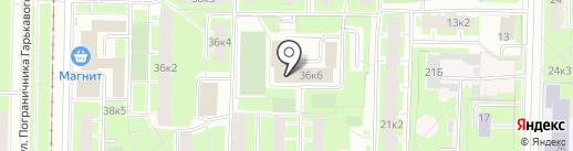 Многофункциональный центр предоставления государственных услуг Красносельского района на карте Санкт-Петербурга