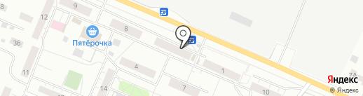 Сбербанк, ПАО на карте Сертолово