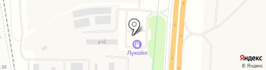 АЗС ЛУКОЙЛ на карте Гатчины