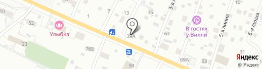 УжСтрой на карте Сертолово
