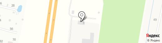 Шпонка на карте Гатчины