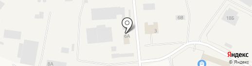 ПетроКартон на карте Малого Верево