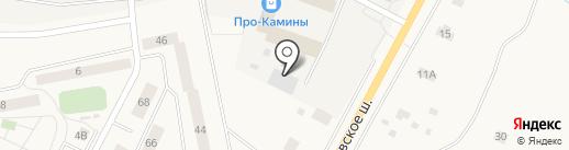 ЛенАква на карте Малого Верево