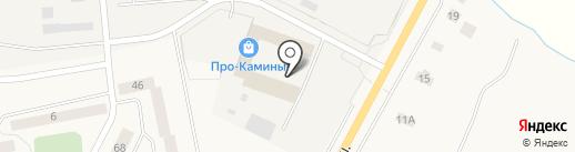 Верево на карте Малого Верево