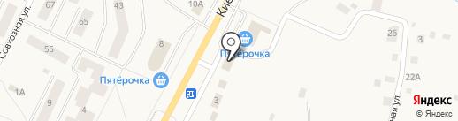 Дом Кровли на карте Малого Верево