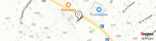 КОМФОРТ на карте Сертолово