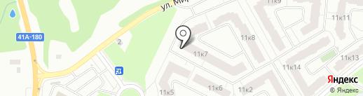 Новое Сертолово на карте Сертолово