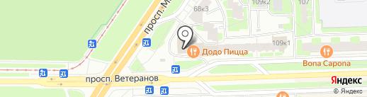 Подарки Востока на карте Санкт-Петербурга