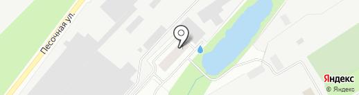 Констракшен Сервис Групп на карте Сертолово