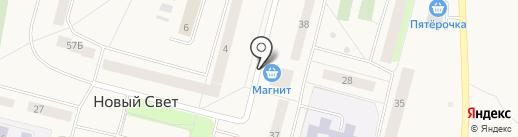 Магазин на карте Нового Света