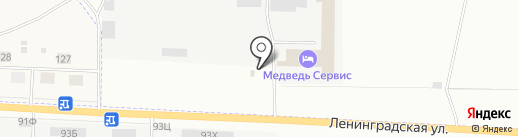 Артико на карте Сертолово
