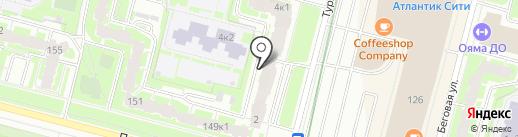 Лахтас, ТСЖ на карте Санкт-Петербурга