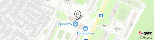 Заречный на карте Сертолово