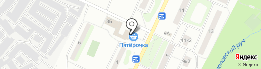 Магазин автозапчастей на Заречной (Всеволожский район) на карте Сертолово