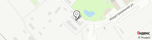 Автомойка на Индустриальной (Всеволожский район) на карте Сертолово