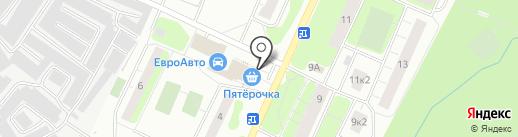 Цветочный магазин на Заречной на карте Сертолово