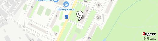 Почтовое отделение №655 на карте Сертолово