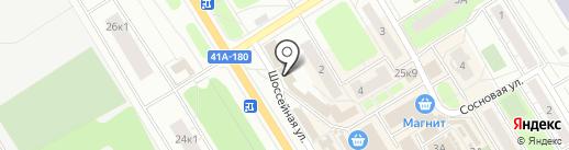 Магазин подарков ручной работы на Восточно-Выборгском шоссе на карте Сертолово