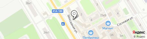 Магазин мясной продукции на карте Сертолово