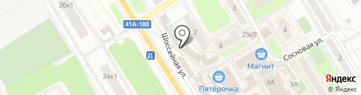 Торговая компания на карте Сертолово