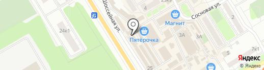 Магазин мяса на Восточно-Выборгском шоссе на карте Сертолово