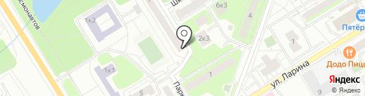Дом быта на карте Сертолово