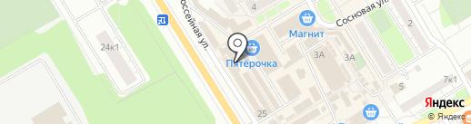 Мужская парикмахерская на карте Сертолово