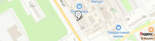 Платный туалет на карте Сертолово
