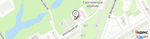 Городская поликлиника на карте Сертолово