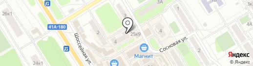 Русский Фонд Недвижимости Юго-Запад на карте Сертолово