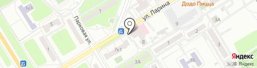 Аптека №193 на карте Сертолово