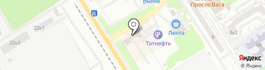 Магазин автозапчастей на карте Сертолово