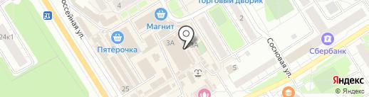 Магазин по продаже печатной продукции на карте Сертолово