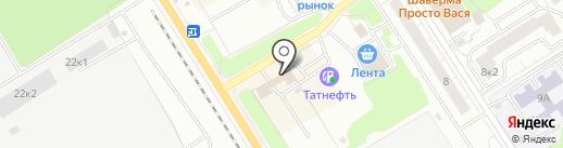 Шиномонтажная мастерская на карте Сертолово