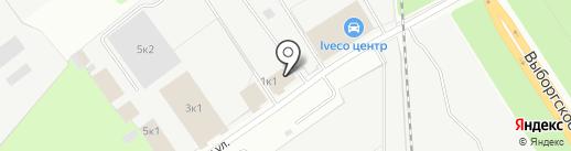 INIER на карте Сертолово
