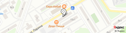 Магазин штор, карнизов и жалюзи на карте Сертолово